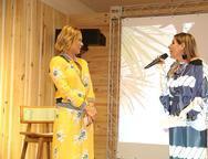 Monica Salgado e Denise Roque