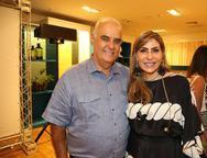 Ricardo Sahd e Denise Roque
