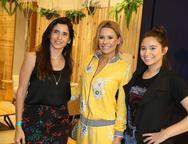 Tereza Portinho, Monica Salgado e Vitoria Oliveira