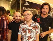 Zav Junior, Lindembergue Fernandes e Lúcio Aurio