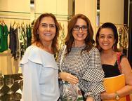 Debora Moreira, Marcia Andrea e Simone Rizato