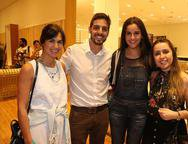 Carolina Kessley, Rafael, Thais Simossi e Ana Ribeiro