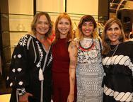 Andrea Fialho, Gabi e Clara Dourado e Denise Roque