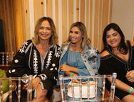 Andrea Fialho, Grazi Nogueira e Vivi Almada