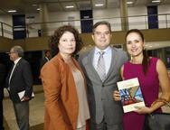 Valéria Serpa, Chanceler Edson Neto e Manoela Bacelar