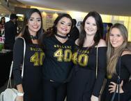 Priscila Azevedo, Jeane Araújo, Lívia Régis e Beatriz Weyne
