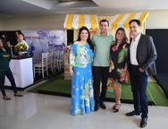 Sellene Câmara, César e Carla Roma e José Martins