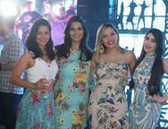 Andressa Sales, Brenda Custódio, Leiliane Sá e Rafaela Martins