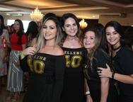Daniele Paz, Carol Guts, Lúcia Sousa e Larissa Natali