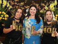 Lília Lima, Sellene Câmara e Carla Mota