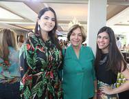 Mayara Carvalho, Maria do Carmo e Jamile Félix
