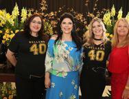 Isabel Magalhães, Sellene Câmara, Flávia Pinheiro e Eliziane Araújo