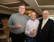 Edson Lima, Sérgio Ribeiro e José Benevides