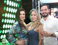 Fabiana Lustosa, Rejane Belchior e Geraldo Munguba