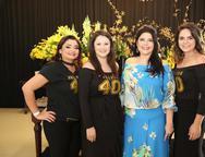 Jeane Araújo, Lívia Régis, Sellene Câmara e Carol Guts