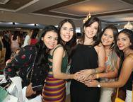 Estefanes Targino, Michelle Rocha, Áquila Bezerra, Andreia de Oliveira e Soraya Morlly