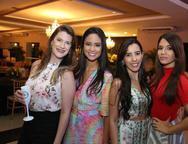 Luciana Sucupira, Karine Lima, Fabiana Azevedo e Itamara Araújo