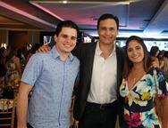 Jadle Freire, José Martins e Tatiane Silva