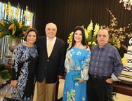 Lúcia Lustosa, José Benevides, Sellene e Max Câmara
