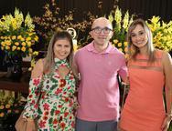 Cláudia Vasconcelos, Paulo Marcone e Milêda Portugal