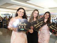 Natália Andrade, Lígia Mirella e Leilane Oliveira
