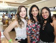 Mayume Silveira, Adriana Oliveira e Geirla Jane