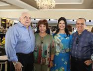 Aramicir Pinto e Maria de Lurdes, Sellene e Max Câmara