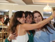 Renata Nogueira, Ilena Bessa e Roberta Galvão