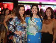 Fabiana Lustosa, Sellene Câmara e Karine Sousa