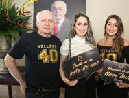 Raimundo Batista, Natália Sampaio e Ione Aguiar