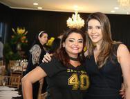 Jeane Araújo e Raíssa Pinheiro