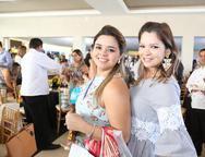 Milena Cavalcante e Lara Evangelista