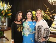 Priscila Azevedo, Sellene Câmara e Patricia Augusto