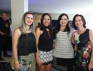 Karina Aguiar, Geirla Jane, Mara Farias e Rita Maia