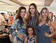 Fabiana e Gabriela Lustosa, Ana Flávia Torquato e Rejane Belchior