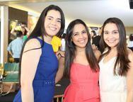 Suene Nascimento, Gislene Campos e Iana Dieb
