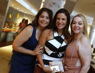 Claudia, Ana Virginia e Sandra Fujita