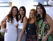 Claudia Quental, Lorena Pouchain, Leticia Studart e  Izabela Fiuza