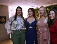 Elisa Oliveira, Claudia Gradvohl, Sandra Fujita e Diana Cabral