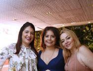 Elisa Oliveira, Claudia Gradvohl e Sandra Fujita