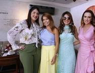 Elisa Oliveira, Maira Albuquerque, Eveline Fujita  e Roberta Nogueira