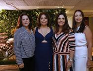 Isabel Ary, Claudia Gradvohl, Cristiane Figueredo e Danielle Medeiro
