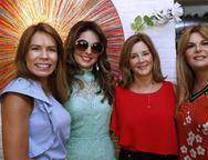 Maira Silva,  Eveline Fujita, Fernanda Matoso e  Cristiane Lima