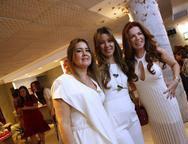 Liana, Lara Fujita e Claudia Quental