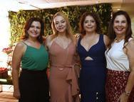 Roberta C�mara, Sandra Fujita, Claudia Gradvohl e Gena Fi�za