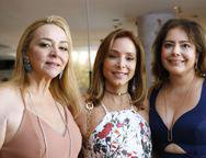 Sandra Fujita, Ana Paula Daud e Claudia Gradvohl