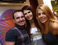 Willfridy Mendon�a, Lorena Pouchain e Let�cia Studart