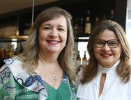 Aline Feitosa e Ana Pinheiro