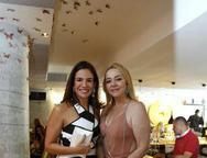 Ana Virginia  e Sandra Fujita