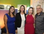 Ana Paula Gomes, Linda Tavares, Luciana Teixeira e Paulo César Noroes
